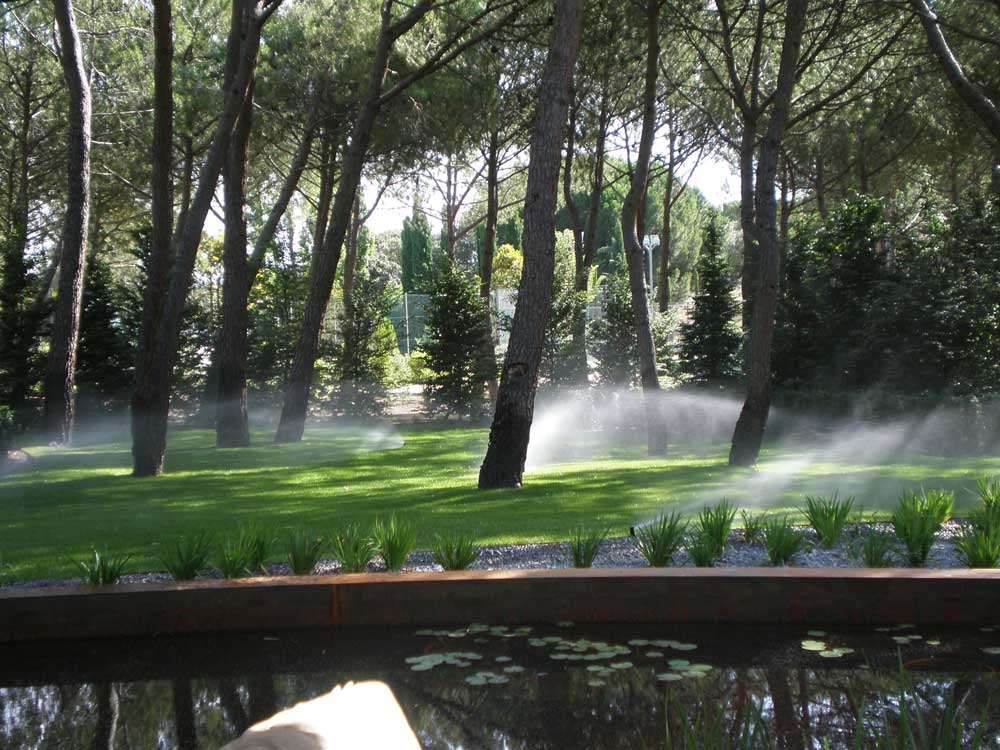 Mantenimiento integral de servicios de jardinería.